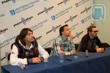 """Омск, группа """"Дискотека Авария"""", DJ Грув, концерт, пресс-конференция"""