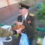"""Омск, 9 мая, социальный проект, """"Подарок ветерану"""""""