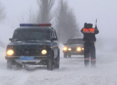 Трассу на Казахстан закрыли