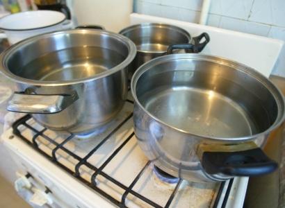 План по отключению горячей воды