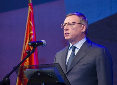 Бурков поздравил омичей с Днем защитника Отечества
