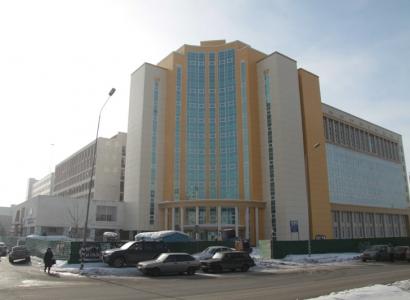 Главный корпус ОмГУ