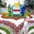 В День города «Флору» украсит масштабная цветочная маска из КНР