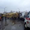 Крановщик, признавший вину в падении крана, получил 150 тысяч рублей