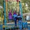 В омском парке 30-летия ВЛКСМ из аттракциона посыпались болты