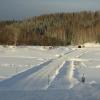 В Омской области открылась вторая ледовая переправа