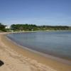 На пляжах все спокойно
