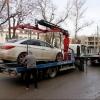 Омское ГИБДД будет чаще эвакуировать машины с выделенной полосы