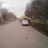 В  Омске девочку сбили на иномарке