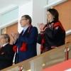 Бурков и Фадина сходили на игру «Авангарда»