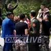 Иностранные выпускники военного училища пели и танцевали в центре Омска