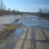 В Омской области произошло подтопление и разрушение 5 километров дороги