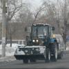 380 коммунальных машин вышли после снегопада на омские улицы