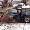 За прошедшую ночь в Омске убрали более 3 200 кубометров снега