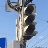 В Омске 10 светофоров не смогли противостоять дождю и ветру