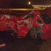 В Омске спорткар превратился в груду металла после ДТП