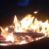 На омских дачах тушили пожар более двух часов
