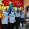 Сотрудники сети АЗС «Газпромнефть» организовали праздничный  спектакль для пациентов детской клиниче