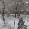 МЧС предупреждает омичей об опасностях от мокрого снега