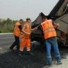 В Омске начался ямочный ремонт самых проблемных дорог
