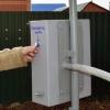 В Омске установили водоразборную колонку с электронным замком