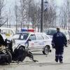 """В Омске на Левобережье столкнулись два легковых автомобиля и """"ГАЗель"""""""