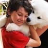 В Омске водитель сбил щенка на глазах ребенка и уехал