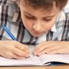 Проверка домашней работы школьников