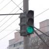 Пьяный омич не дождался зеленого сигнала светофора и уснул за рулем