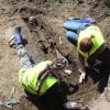 Человеческие кости затормозили строительство элитного жилкомплекса в Омске