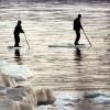 В Крутинском районе Омской области со льдины спасают двух человек