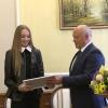 Виктор Назаров лично поздравил омских гимнасток, взявших «золото»