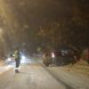 В Омске на улице Енисейской Хонда протаранила забор
