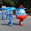 «ОмскВодоканал» начал приём заявок на поздравления с участием ростовой куклы «Капля»