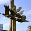 В Омске появится скульптура «Журавли» в честь омичей-участников Великой Отечественной войны