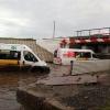 В Омске после ливня затопило тоннель на улице Серова