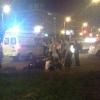 В Центральном округе Омска водитель мотоцикла сбил пешехода