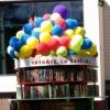 В сквере Дзержинского читают и раздают книги