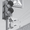 Новый светофор у «Голубого огонька»