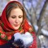 От омичек ждут фотографий в русском платке
