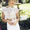 Свадебные платья кроп-топ: для красивых и смелых