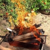 Омские спасатели используют квадрокоптеры в борьбе с лесными пожарами