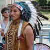 На омских улицах поют индейцы