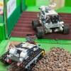 Омские школьники приняли участие в соревнованиях роботов