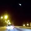 Омичи засняли святящийся объект, похожий на метеорит