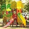 Новые детские площадки появились на Левобережье