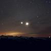 Омичи смогут наблюдать «космический танец» Венеры и Юпитера