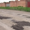 После жалоб в соцсетях омский Минстрой проверил качество ремонта дороги на улице Красный Пахарь