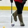 Омские чиновники сыграют в хоккей на валенках