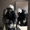 Во время пожара в омской многоэтажке были эвакуированы 7 человек